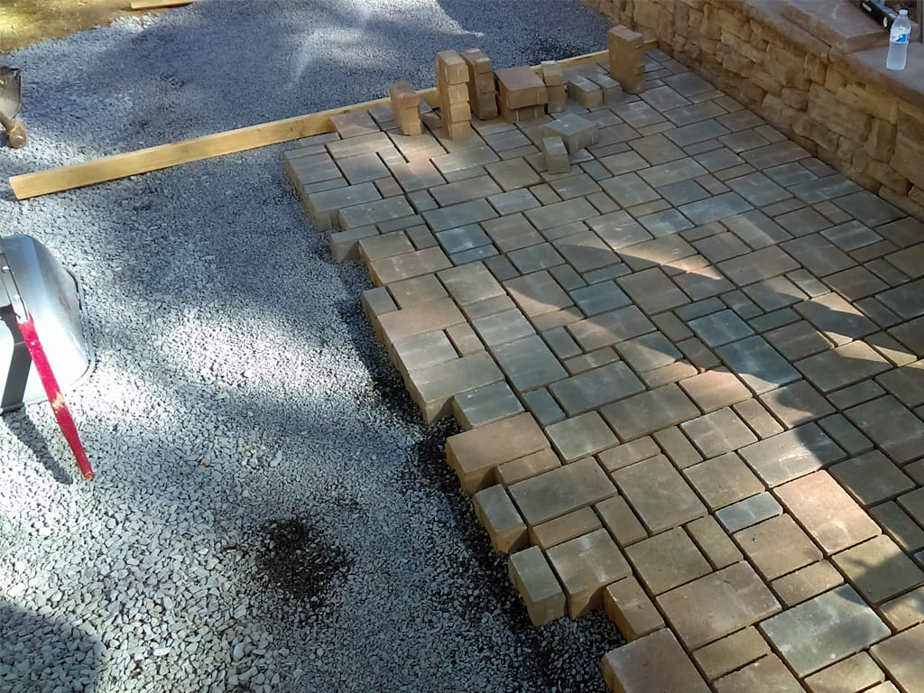 Eco Dublin Silex Blend Permeable Paver Patio