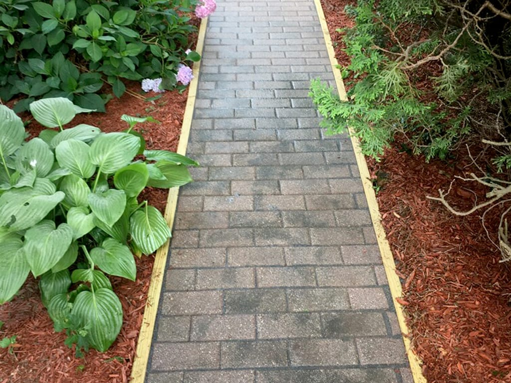 Refurbished walkway
